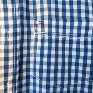 TOMMY HILFIGER Boys Checked Long Sleeve